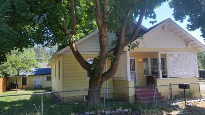 Missoula Single Family Home Under Contract Taking Back-Up : 900 6th Street