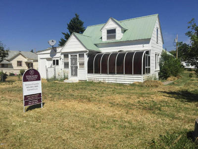 Polson Single Family Home Under Contract Taking Back-Up : 607 6th Avenue East