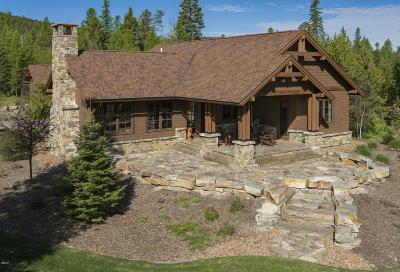 Whitefish Single Family Home For Sale: 78 Whitefish Hills Loop