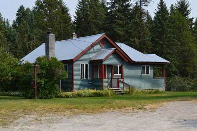 Whitefish Single Family Home For Sale: 4970 Hwy 93 West