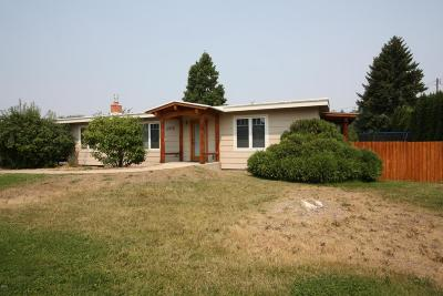 Missoula Single Family Home For Sale: 2516 South 14th Street West