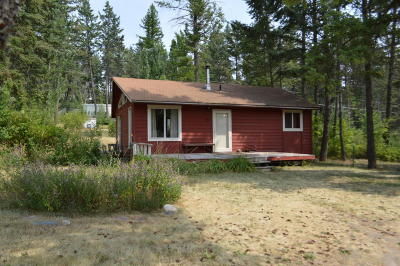 Whitefish Single Family Home Under Contract Taking Back-Up : 313 Cougar Trail