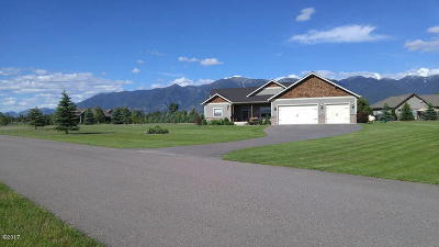 Kalispell Single Family Home Under Contract Taking Back-Up : 206 Sunset Trail