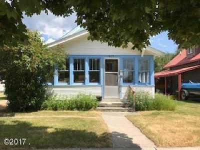 Whitefish, Olney Single Family Home Under Contract Taking Back-Up : 619 Columbia Avenue
