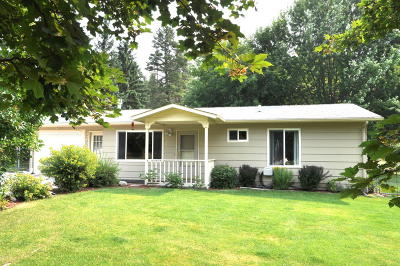 Whitefish Single Family Home For Sale: 325 Cougar Trail