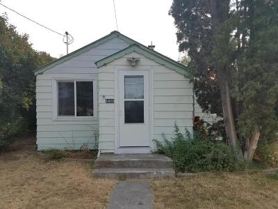 Columbia Falls Single Family Home Under Contract Taking Back-Up : 1405 4th Avenue West