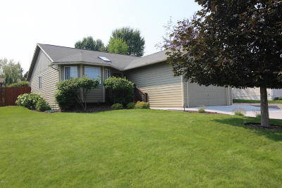 Missoula Single Family Home Under Contract Taking Back-Up : 115 Grandview Way