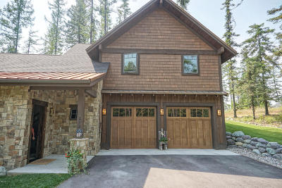 Whitefish Single Family Home For Sale: 212 Hidden Hills Lane
