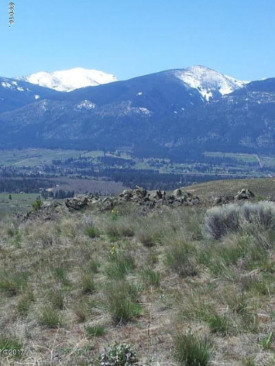 Missoula County Residential Lots & Land For Sale: Lot 1 White Cloud Ranch