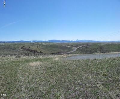Missoula County Residential Lots & Land For Sale: Lot 3 White Cloud Ranch