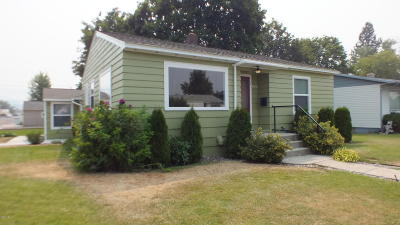 Missoula Single Family Home For Sale: 1601 West Sussex Avenue