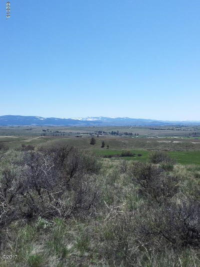 Missoula County Residential Lots & Land For Sale: Lot 2 Bitterroot View Ranch