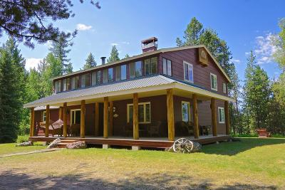 Condon, Potomac, Seeley Lake Single Family Home For Sale: 6601 Hwy 83 North
