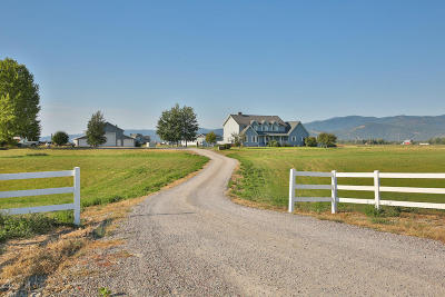 Kalispell Single Family Home For Sale: 2120 Lower Valley Road