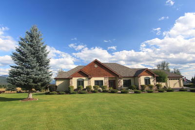 Kalispell Single Family Home Under Contract Taking Back-Up : 1058 Blue Grouse Drive