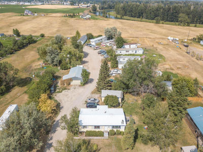 Flathead County Commercial For Sale: 169 Lower Valley Road