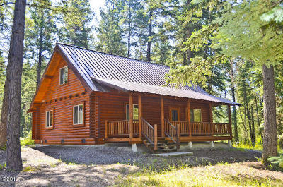 Trout Creek Single Family Home Under Contract Taking Back-Up : 76 View Point Lane