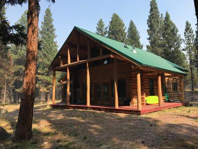 Seeley Lake Single Family Home Under Contract Taking Back-Up : 191 Buckskin Drive