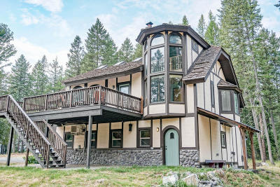 Whitefish Single Family Home For Sale: 48 Rifle Range Road