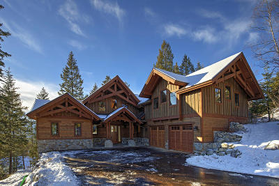 Whitefish Single Family Home For Sale: 149 South Shooting Star Circle