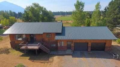 Columbia Falls Single Family Home Under Contract Taking Back-Up : 388 Kelley Road