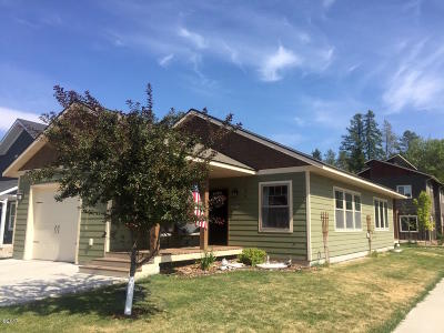 Whitefish Single Family Home Under Contract Taking Back-Up : 732 Aspen Grove Street