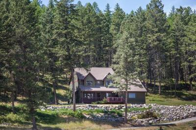 Whitefish Single Family Home For Sale: 5064 Whitefish Stage Road