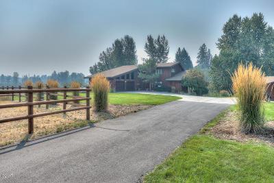 Stevensville Single Family Home For Sale: 121 South Kootenai Creek Road