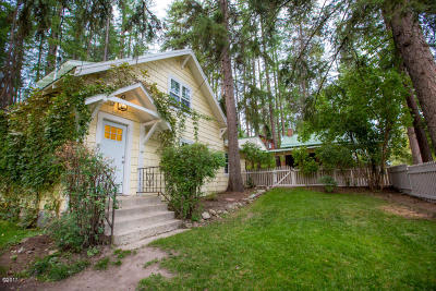 Whitefish Single Family Home Under Contract Taking Back-Up : 205 West 8th Street