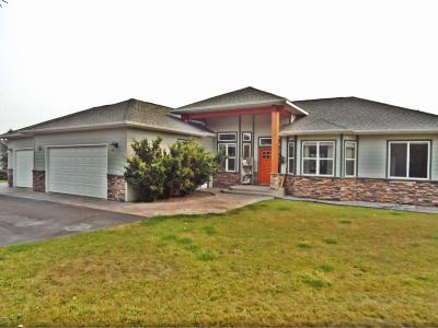 Missoula Single Family Home Under Contract Taking Back-Up : 1865 Kootenai Drive