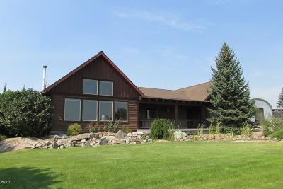 Kalispell Single Family Home For Sale: 180 Cobbler Village Road