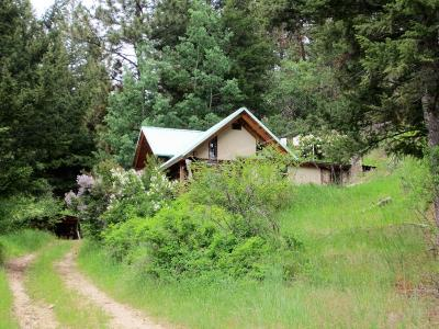 Darby Single Family Home For Sale: 4702/4730 Dugout Gulch Road