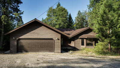 Whitefish Single Family Home For Sale: 2650 Big Mountain Road