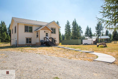 Kalispell Single Family Home Under Contract Taking Back-Up : 294 Lone Star Trail