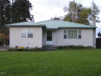 Kalispell MT Single Family Home For Sale: $237,000