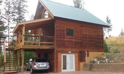 Seeley Lake MT Single Family Home For Sale: $199,900