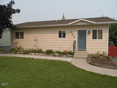 Polson Single Family Home Under Contract Taking Back-Up : 408 22nd Avenue West
