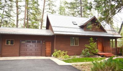 Whitefish Single Family Home Under Contract Taking Back-Up : 251 Elk Trail