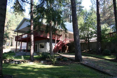 Thompson Falls Single Family Home For Sale: 1742 Blue Slide Road