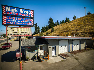 Flathead County Commercial For Sale: 1018 Us Hwy 2 East
