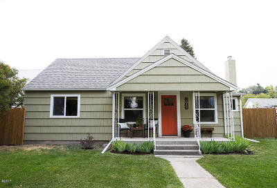 Kalispell Single Family Home Under Contract Taking Back-Up : 1011 5th Avenue West