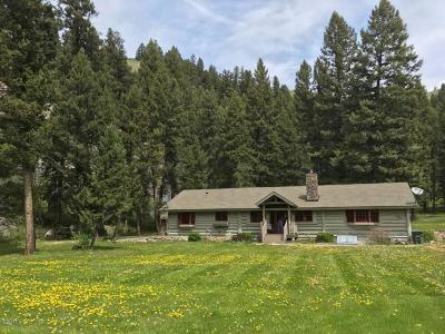 Ravalli County Single Family Home For Sale: 1286 East Fork Road