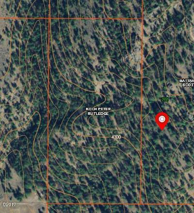 Ravalli County Residential Lots & Land For Sale: Nhn Little Willow Creek Road