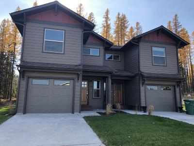 Whitefish Single Family Home For Sale: 125 Great Northern Drive