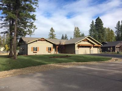 Kalispell MT Single Family Home Under Contract Taking Back-Up : $390,000