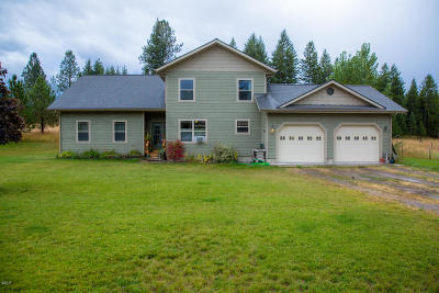 Flathead County Single Family Home Under Contract Taking Back-Up : 1044 12th Street East North