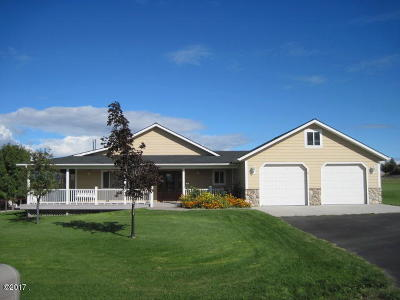 Ravalli County Single Family Home For Sale: 780 Bauer Lane