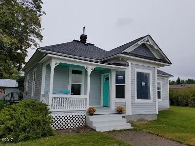 Ravalli County Single Family Home For Sale: 155 A Street South