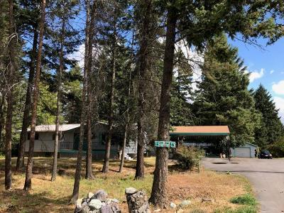 Whitefish Single Family Home Under Contract Taking Back-Up : 5775 Us Highway 93 South