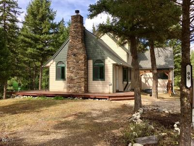 Flathead County Single Family Home For Sale: 99 Mount Creek Drive
